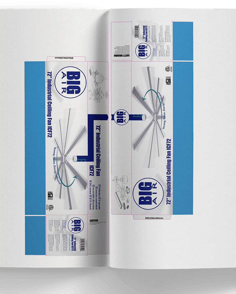Packaging for Ventamatic, Ltd.